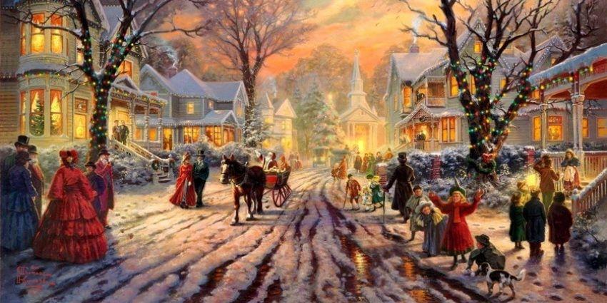 Dekoracje domów na święta Bożego Narodzenia