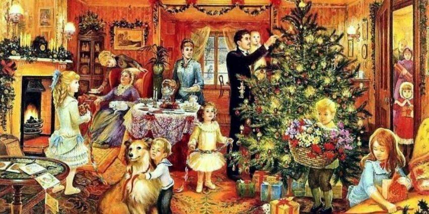 Dekoracja choinki bożonarodzeniowej