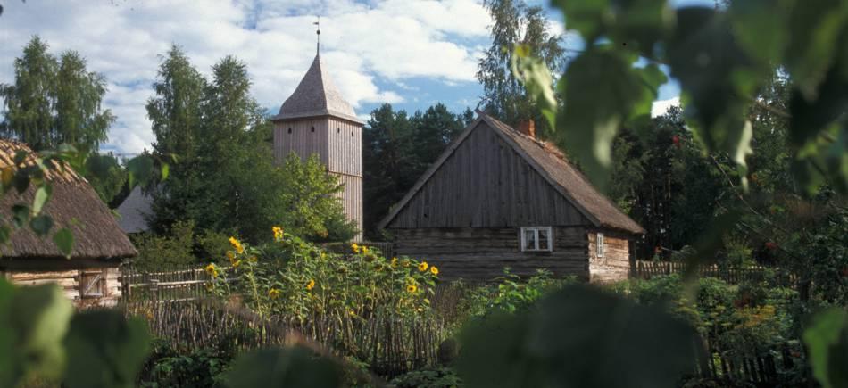 Kaszubski Park Etnograficzny we Wdzydzach