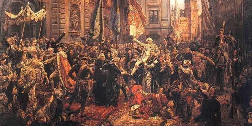 Konstytucja 3 Maja -1791 r.